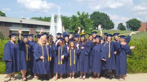 United students graduate from the medical office administration program in Irwin, PA